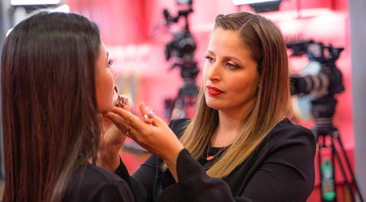 Il ritorno in Tv du Clio, la make-up artist più amata