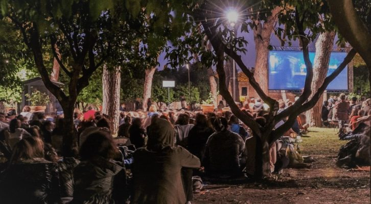 Il Cinema riparte con le sale all'aperto