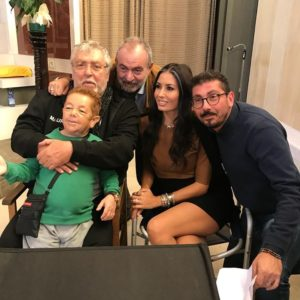 Il produttore e regista Nilo Sciarrone al lavoro sul film della cantante Giusy Attanasio
