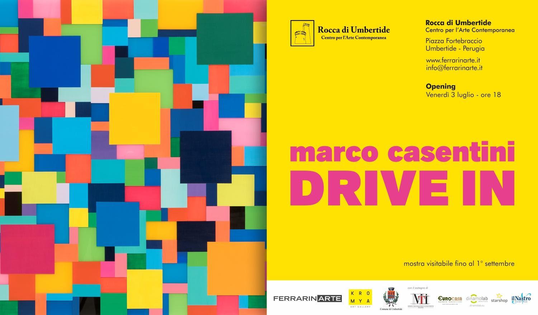"""La Rocca di Umbertide ospita """"Drive In"""", mostra personale di Marco Casentini"""