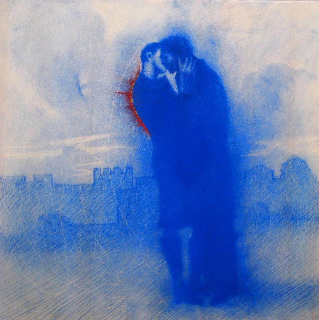 "In mostra ""Baci Rubati/Covid 19"" di Omar Galliani"