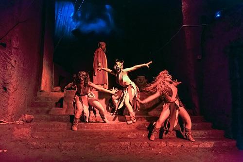 Tornano l'Inferno di Dante nelle Grotte di Castelcivita e il Paradiso al Castello Arechi