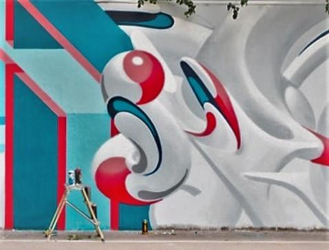 A Padova un murales che parla di solidarietà