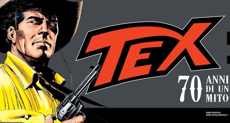 """""""Comicon Extra"""", la quarta tappa della mostra """"Tex. 70 anni di un mito"""""""