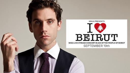 Mika: in attesa del suo concerto di beneficenza I Love Beirut