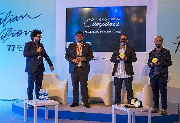 Venezia 77: Consegnati i riconoscimenti del Premio Cinema Campania 2020