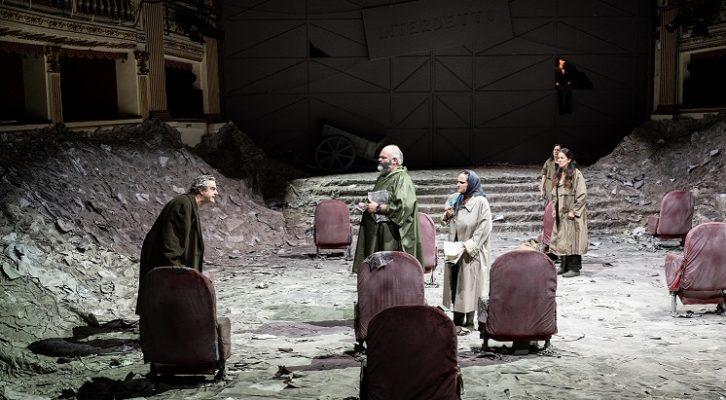 I Manoscritti del diluvio di Bouchard in scena al Teatro Mercadante