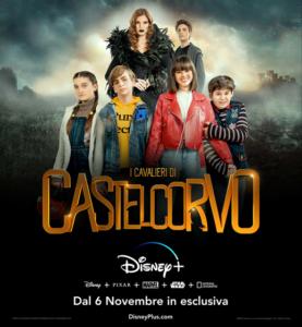 """Fabio Bizzarro: il nuovo volto Disney protagonista della serie """"I Cavalieri di Castelcorvo"""" (i cavalieri di castelcorvo fabio bizzarro 277x300)"""