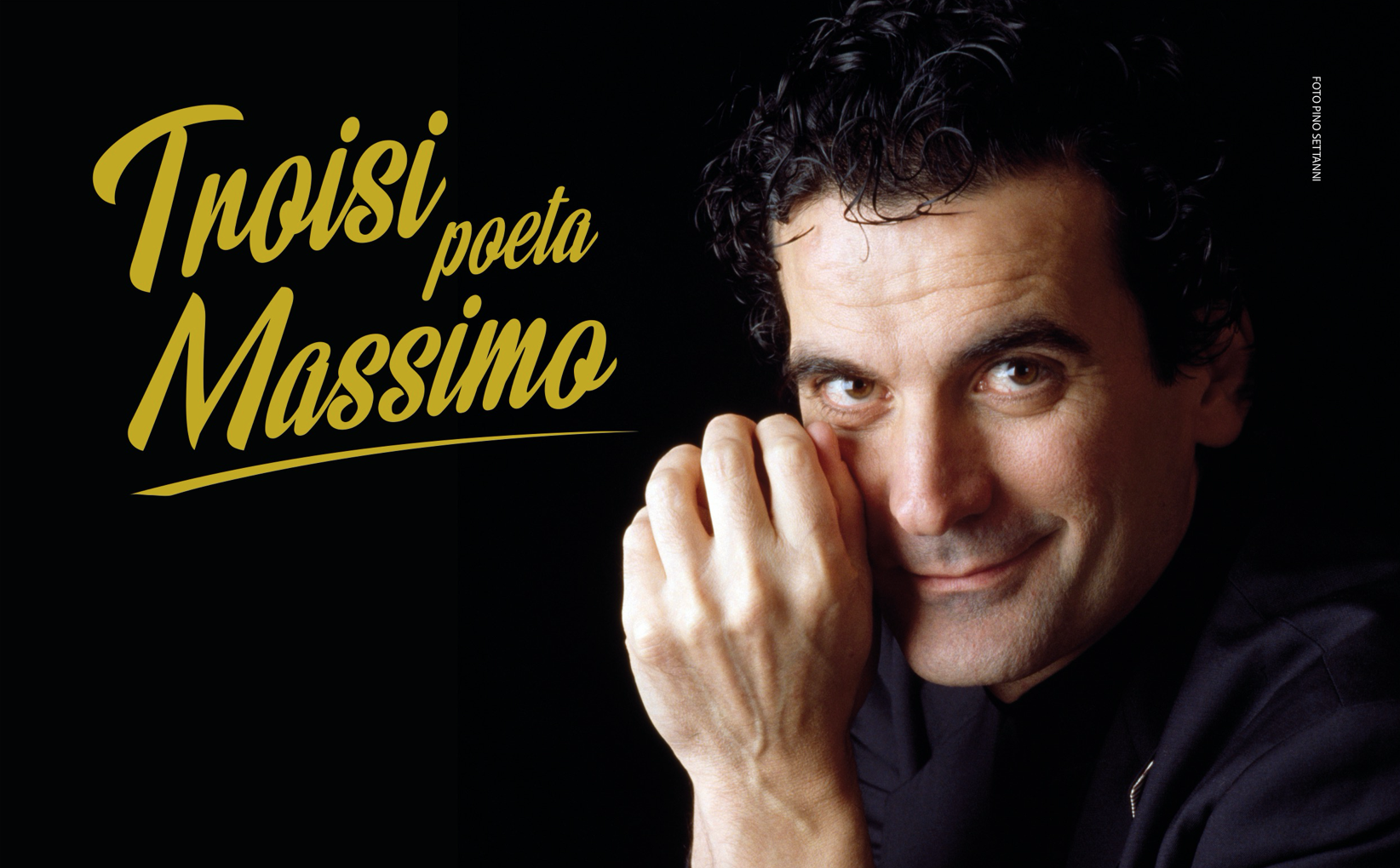 """Arriva a Napoli """"Troisi poeta Massimo"""", la grande mostra dedicata a Massimo Troisi"""