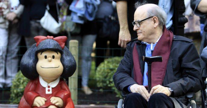 Si è spento a 88 anni Quino, il papà di Mafalda