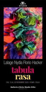 "Mostra: ""Tabula Rasa"" dell'Artista Lalage Nydia Florio Hacker (mostra tabula rasa 150x300)"