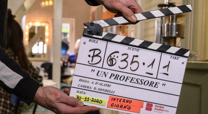 """Alessandro Gassmann e Claudia Pandolfi protagonisti della serie """"Un Professore"""""""