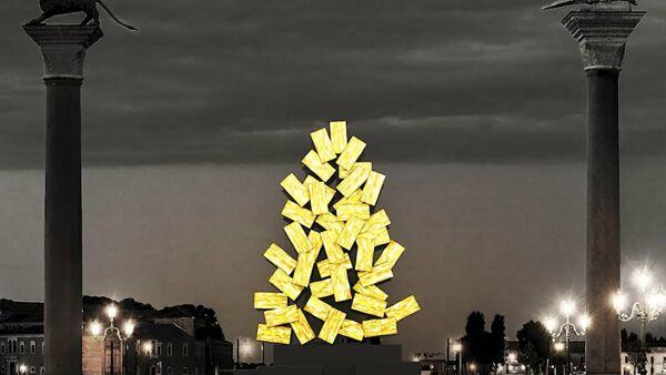 Venezia: un albero digitale per piazza San Marco