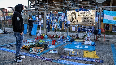 Addios Maradó, un brano omaggio a Maradona