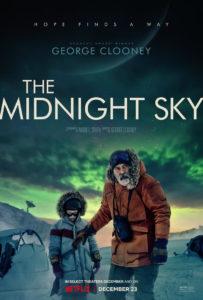 Su Netflix The Midnight Sky di e con George Clooney – la nostra recensione (the midnight sky poster film netflix 203x300)