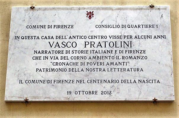 Firenze: in partenza un tour nelle strade e nelle case di grandi scrittori