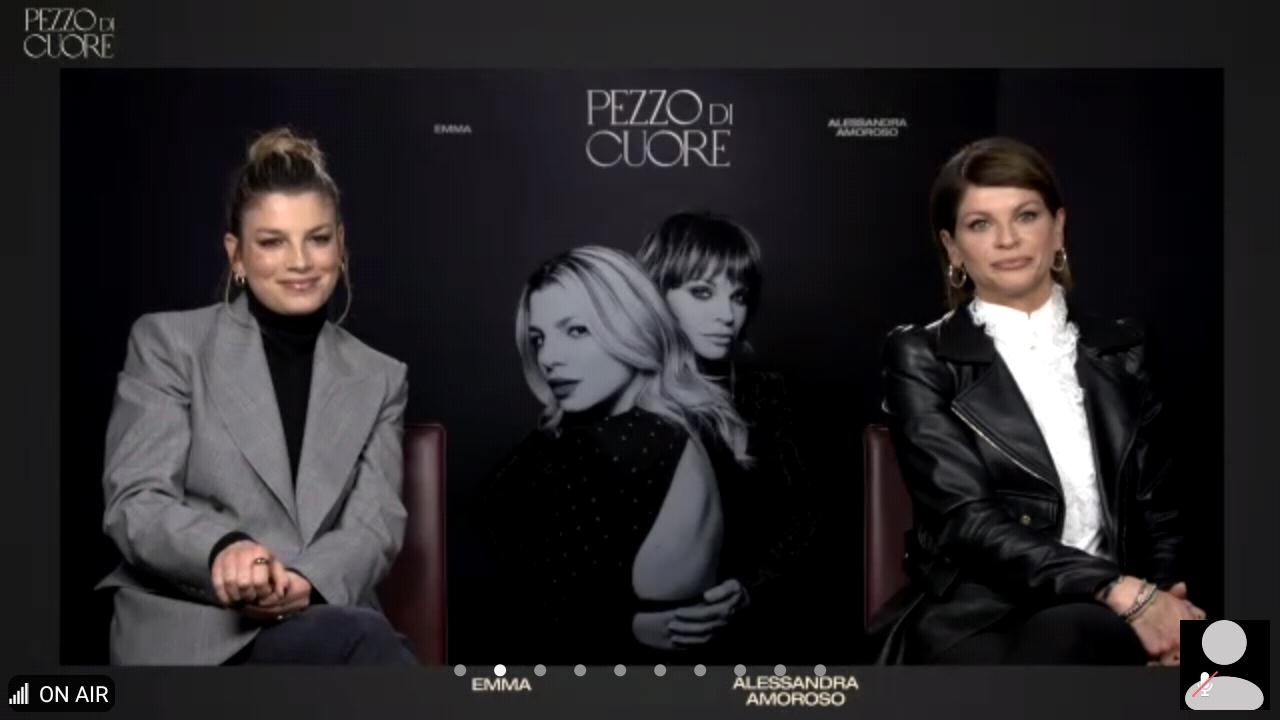 """Quattro chiacchiere con Emma e Alessandra Amoroso in occasione dell'uscita di """"Pezzo di cuore"""""""