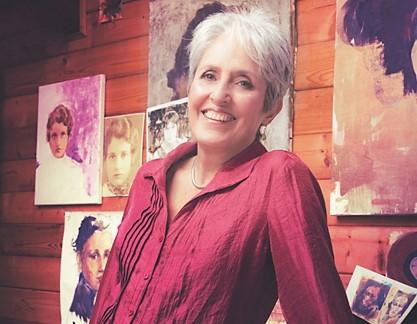 Dalla musica alla pittura Joan Baez festeggia i suoi 80 anni