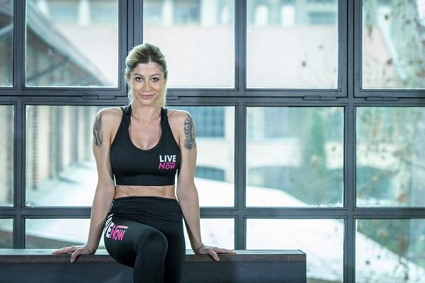 Maddalena Corvaglia diventa ambassador di LiveNow Fitness