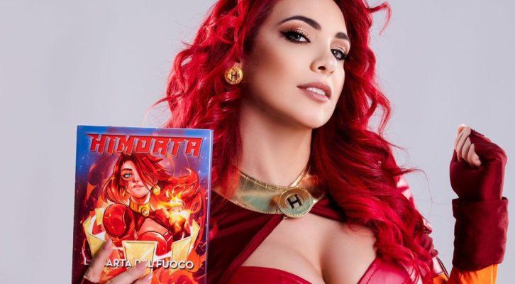 """""""La carta del fuoco"""" il primo libro/ fumetto di Himorta"""