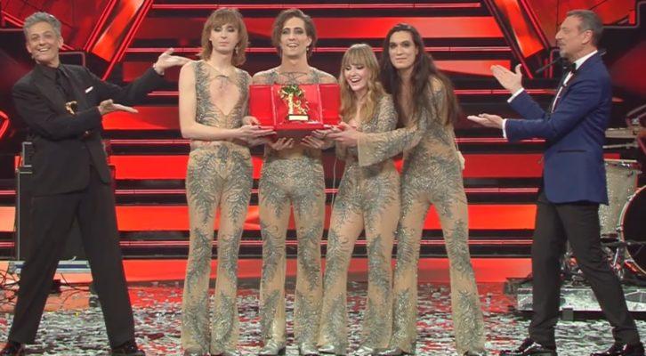 A Sanremo vince il rock con i Måneskin