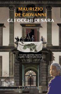 """""""Gli occhi di Sara"""", l'ultimo romanzo di Maurizio de Giovanni (gli occhi di sara cover book maurizio de giovanni 196x300)"""