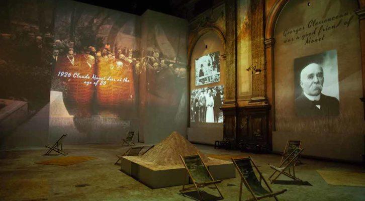 "Arriva a Napoli ""Claude Monet: The Immersive Experience"""