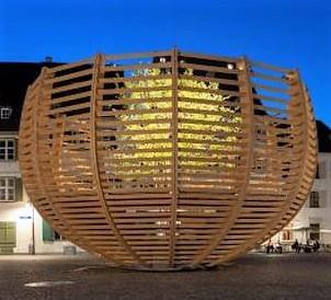 Dopo il bosco nello stadio, Klaus Littmann presenta l'Arena per un albero
