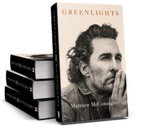 """Il premio Oscar Matthew McConaughey presenta la sua biografia """"Greenlights. L'arte di correre in discesa"""" (Matthew Mc Conaughey libro 300x260)"""