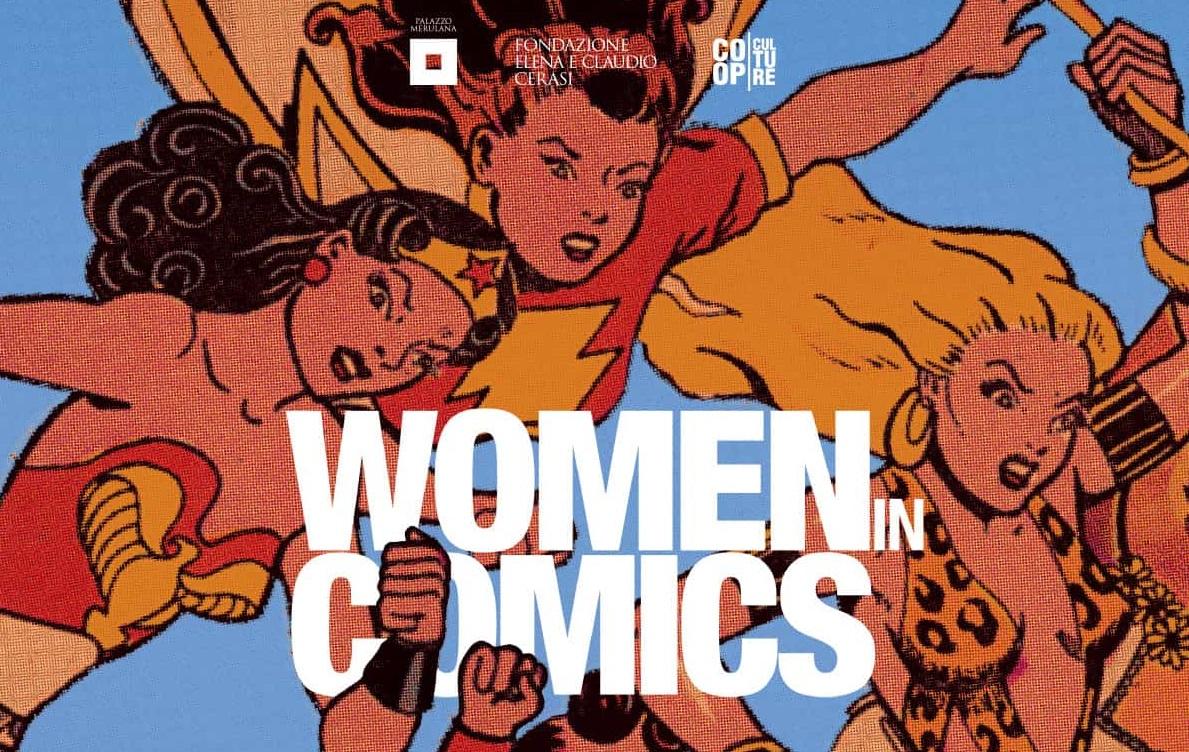 """Il Palazzo Mareluna ospita la mostra """"Women in Comics"""""""