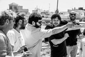 I registi Gianluca e Massimiliano De Serio a Cinema intorno al Vesuvio (Salvatore Esposito Spaccapietre 2019 600x400 1 300x200)