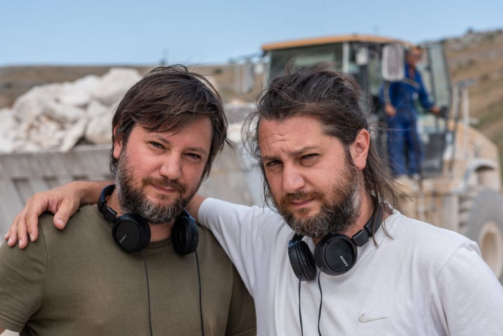 I registi Gianluca e Massimiliano De Serio a Cinema intorno al Vesuvio