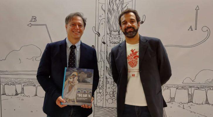 """Al Museo Archeologico Nazionale di Napoli arriva """"Moebius Alla ricerca del tempo"""""""