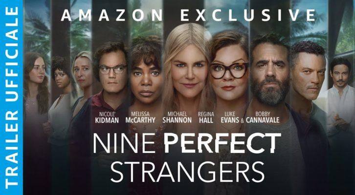 Al via su Amazon Prime Video la seria Nove perfetti sconosciuti, in spa con Kidman