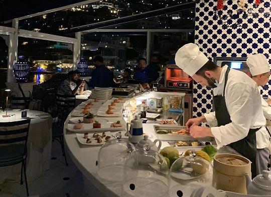 I nuovi piatti dello chef Nunzio Spagnuolo al Rada Rooftop