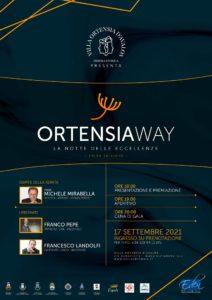 'OrtensiaWay – La notte delle Eccellenze' ad Alvignano (Locandina ORTENSIAWAY 212x300)