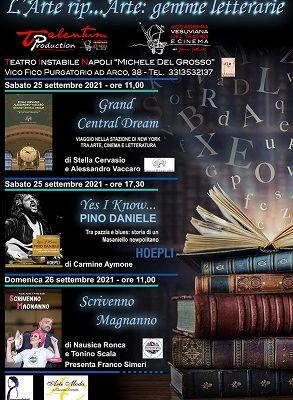 """Due giorni di libri al teatro Tin  di Napoli  con l'evento """"L'arte ri… Parte: gemme letterarie"""""""