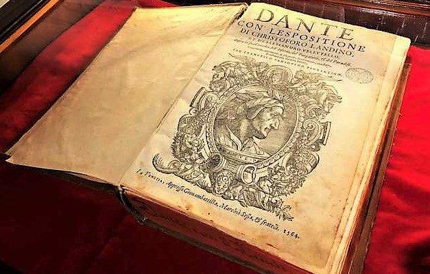 """Mostra: """"Noi leggiavamo un giorno per diletto"""", per celebrare settimo centenario dalla morte di Dante"""
