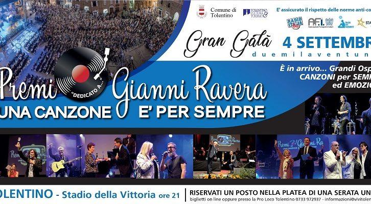 """Premio Ravera 2021: """"Una canzone è per sempre"""": evento in memoria di Gianni Ravera"""