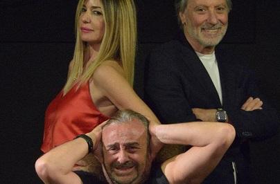 """Anteprima nazionale al Teatro 7 a Villa Massimo per lo spettacolo """"Stasera mi butto!"""""""
