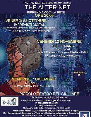 A Piccolo Teatro del Giullare di Salerno riprendono le proiezioni del Tam Tam Digifest
